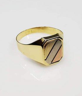 pecsétgyűrű arany