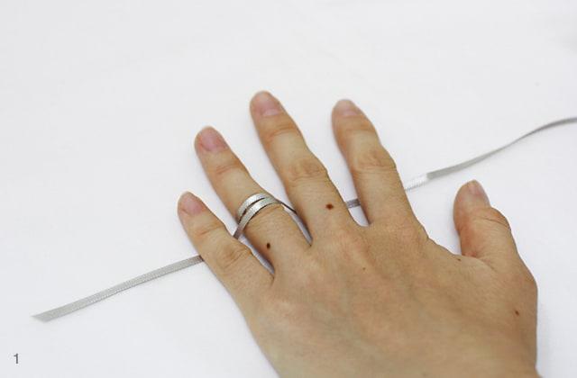 gyűrűméret meghatározása