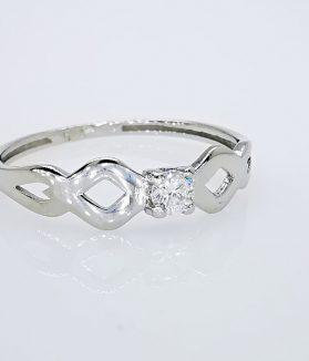 gyémánt arany gyűrű