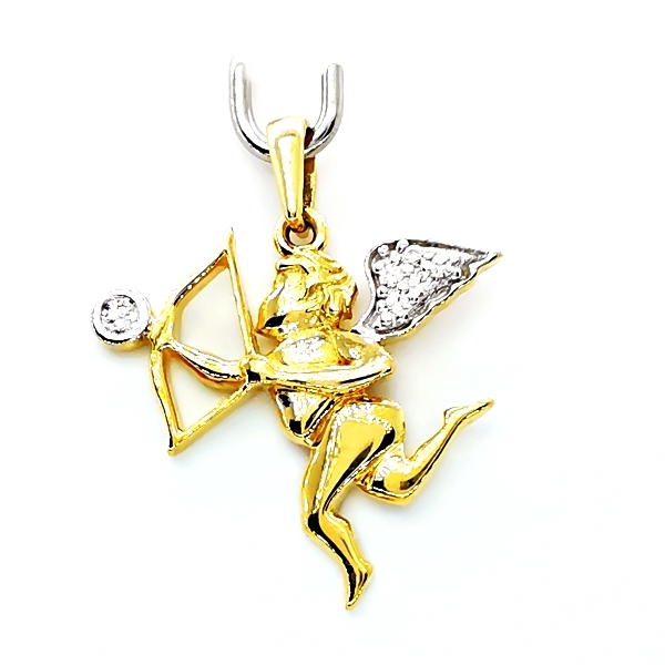 Arany angyalka medál
