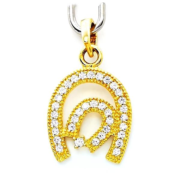 arany patkó medál
