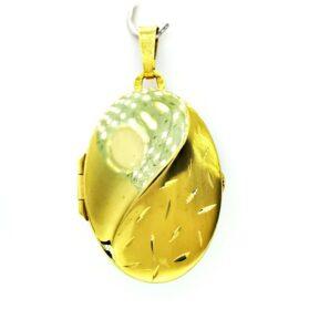 Arany nyitható medál