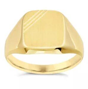 Férfi arany gyűrűk