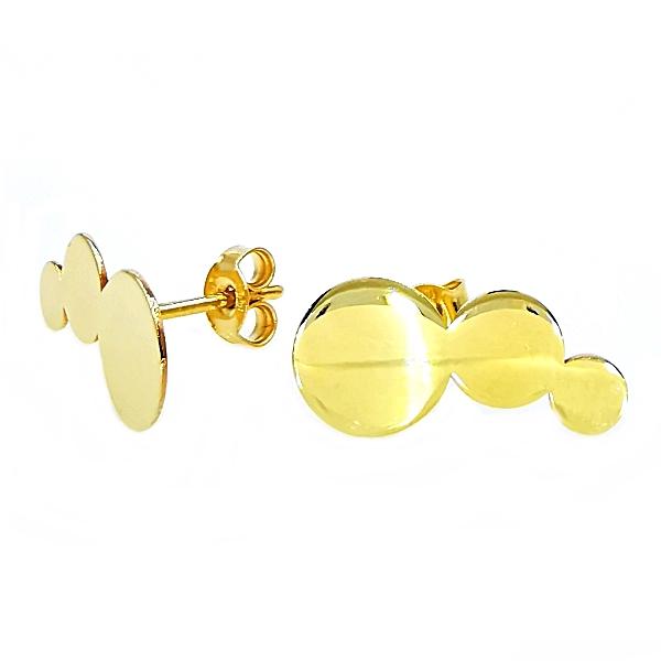 bedugós arany fülbevaló